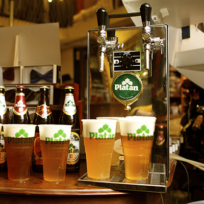Platan øl, fadøl, tjekkisk øl, fest, godt øl, fadølsudlejning, julebryg, bock øl, fadølsanlæg